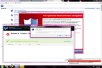 cryptolocker pop up message