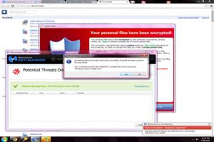ransom cryptolocker virus pop up message